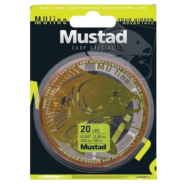 Fir Carp Special MU Line 1200m Mustad (Diametru fir: 0.23 mm) Mustad Oferta pescar-expert