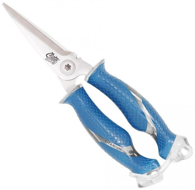 Foarfeca Cuda Titanium Bonded Snips 8, 23cm Cuda Oferta pescar-expert
