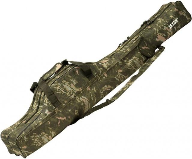 Husa camuflaj Jaxon X-Team, 2 compartimente (Lungime husa: 125 cm) Jaxon Oferta pescar-expert