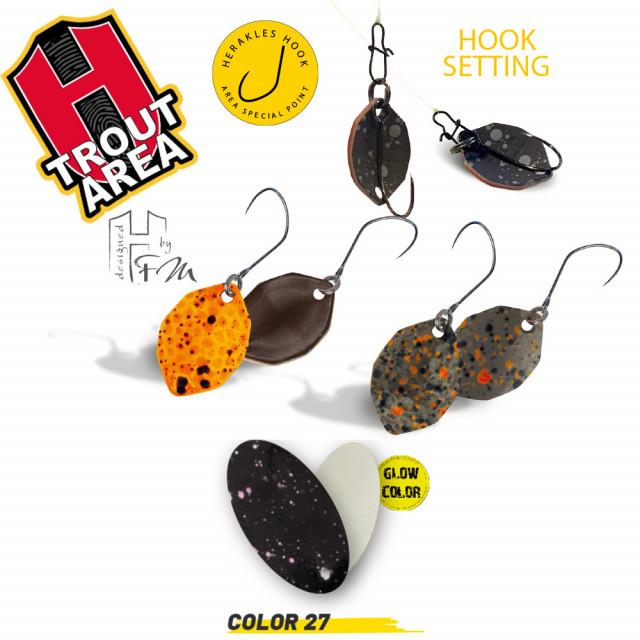 Oscilanta Herakles Sbam-B, Culoare 27 -Black Glow, 0.4g Herakles Oferta pescar-expert