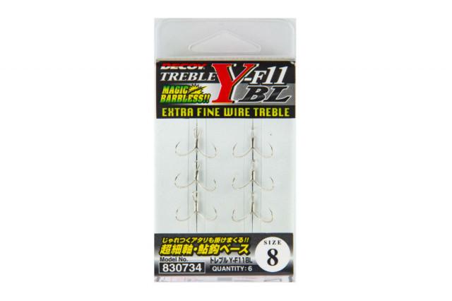 Ancora Decoy Y-F11 Bl Extra Fine Wire Barbless (Marime Ancora: Nr. 10) Decoy Oferta pescar-expert