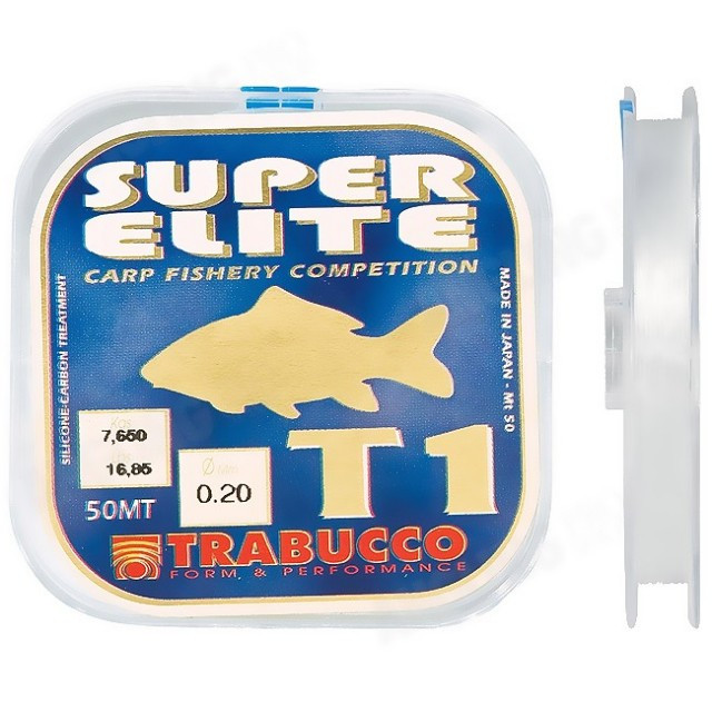 Fir Monofilament Super Elite Carp T1, 50m Trabucco (Diametru fir: 0.11 mm) Trabucco Oferta pescar-expert