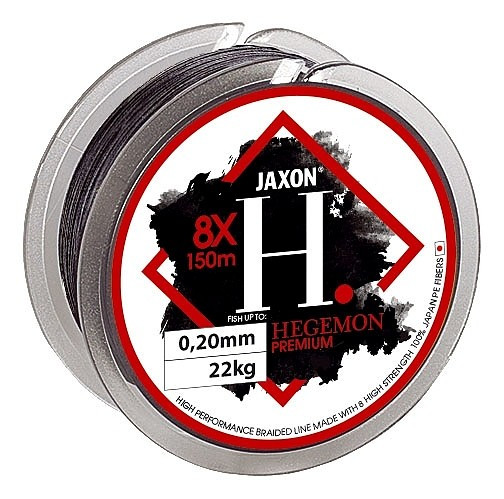 Fir textil Jaxon Hegemon 8X Premium, 150m (Diametru fir: 0.14 mm) Jaxon Oferta pescar-expert