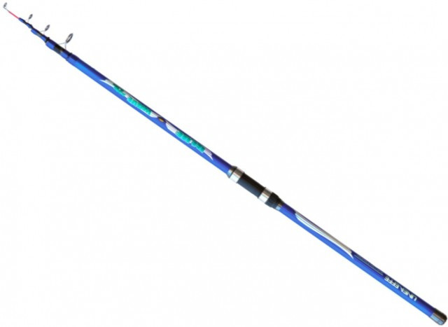 Lanseta telescopica Lineaeffe Blue Wave WWG 3.90m, 220g Lineaeffe Oferta pescar-expert