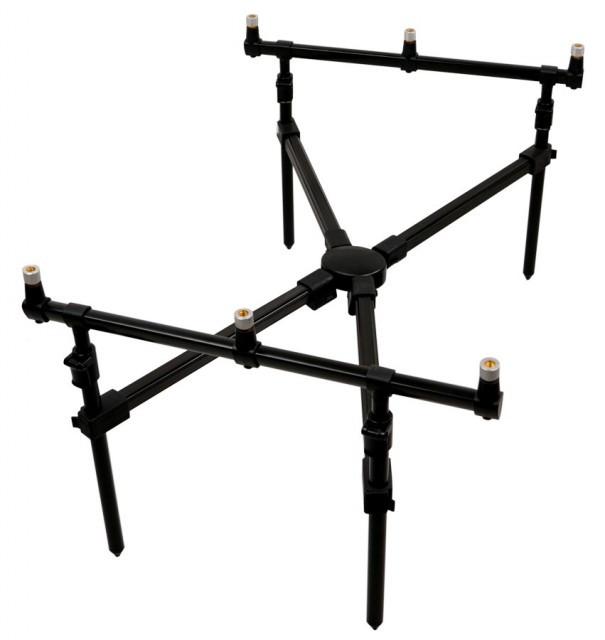 Rod-Pod aluminiu Cross 3 posturi Carp Zoom