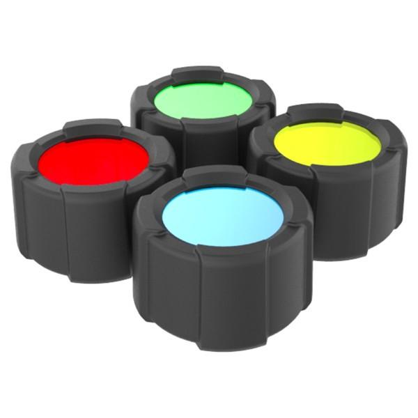 Set 4 filtre 3mm pentru MT14 Led Lenser