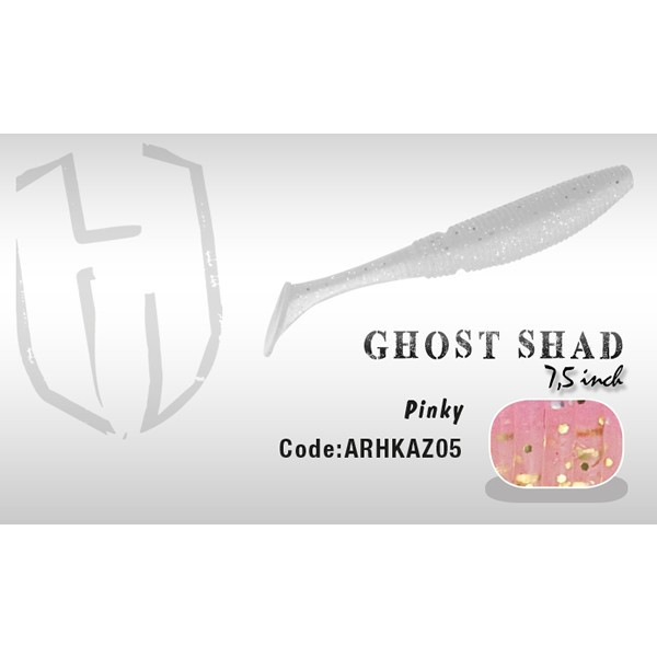 Shad Ghost 7.5cm Pinky Herakles Herakles Oferta pescar-expert