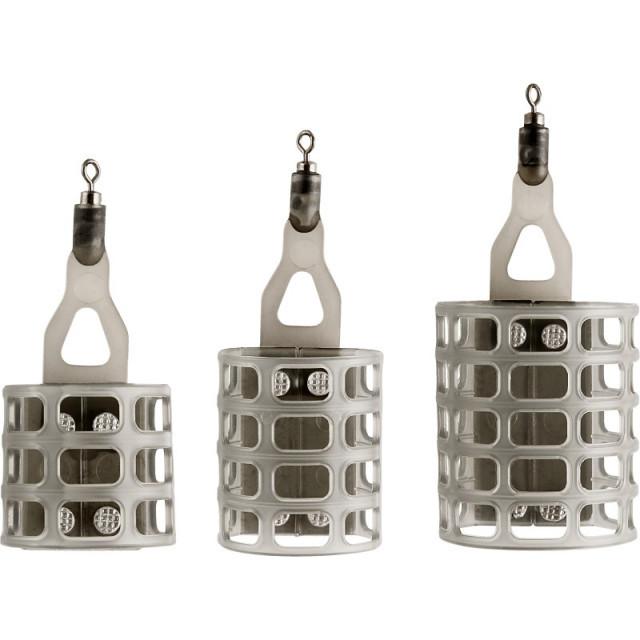 Cosulet feeder Trabucco Airteck PRO Match-Cage cu agrafa, marime S (Greutate plumb: 20g) Trabucco Oferta pescar-expert