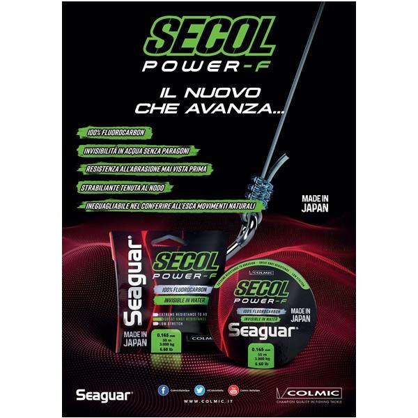 Fir Fluorocarbon Seaguar Secol Power-F 50m Colmic (Diametru fir: 0.37 mm) Colmic Oferta pescar-expert
