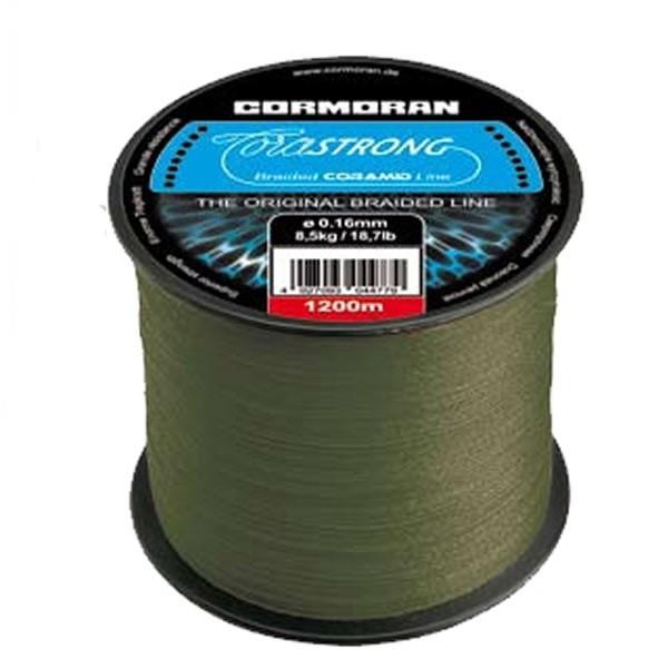 Fir textil Cormoran Corastrong, verde, 1200m (Diametru fir: 0.25 mm) Cormoran Oferta pescar-expert