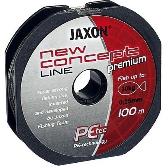 Fir textil Jaxon Concept Line, gri, 100m (Diametru fir: 0.15 mm) Jaxon Oferta pescar-expert