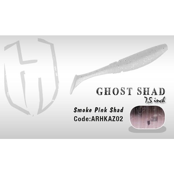 Shad Ghost 7.5cm Smoke Pink Herakles Herakles Oferta pescar-expert