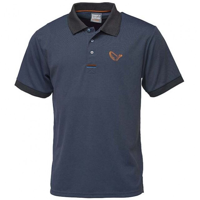 Tricou Simply Polo Bleumarin Savage Gear