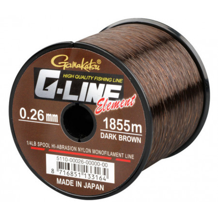 Poze Fir Gamakatsu G-Line Element Dark Brown