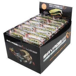 Poze Shad LB Cannibal Perch 12.5cm/20gr/3buc/plic Savage Gear