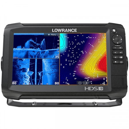 Sonar Lowrance HDS-9 Carbon Structure Scan 3D Chartplotter