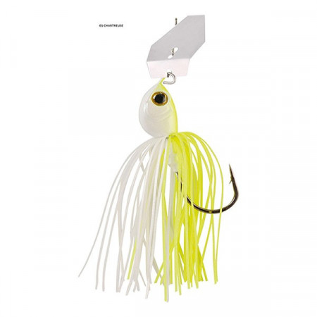 Poze Spinnerbait Windex Chatterbait White/Chartreuse 10.5g Rapture