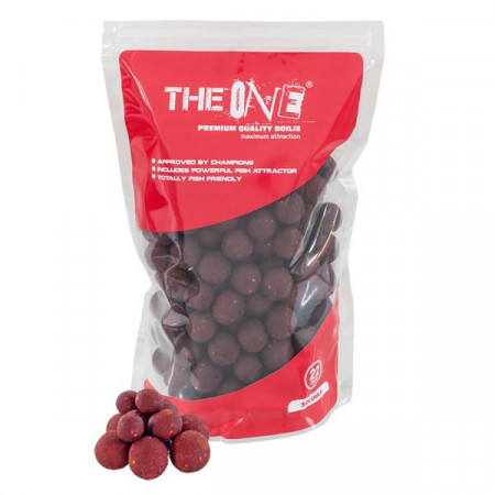 Poze Boilies Solubil PVTV The Red One 22mm 1kg The One