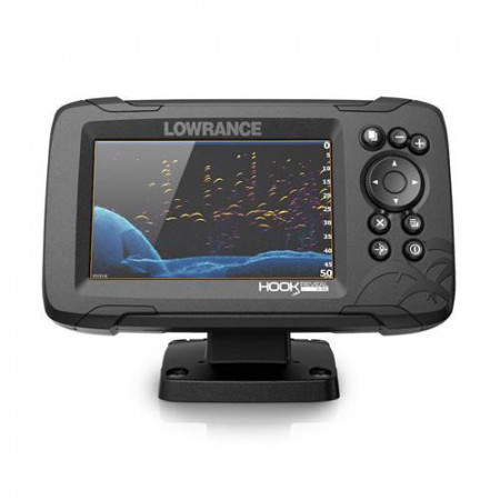 Sonar Lowrance HOOK Reveal 5, traductor 50/200 HDI CHIRP Multifunctional, Chartploter