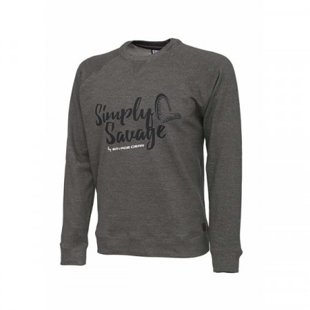 Poze Tricou Simply Gray Savage Gear
