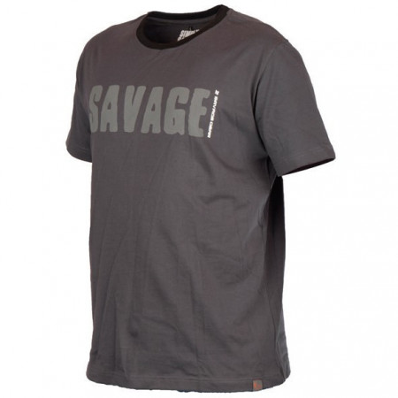 Poze Tricou Simply gri Savage Gear