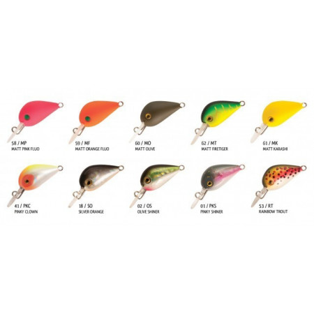 Poze Vobler Pro Hot Buzz Sinking Pinky Clown 2.5cm, 3g Rapture