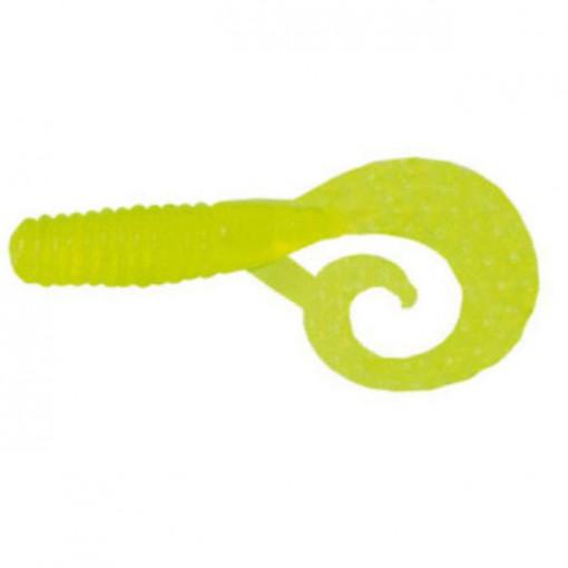 Grub Mann's Mannipulator, Chartreuse, 4cm, 8buc