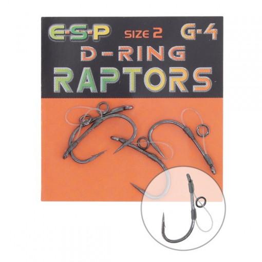 Carlige crap Raptor D-Ring G4 Drennan