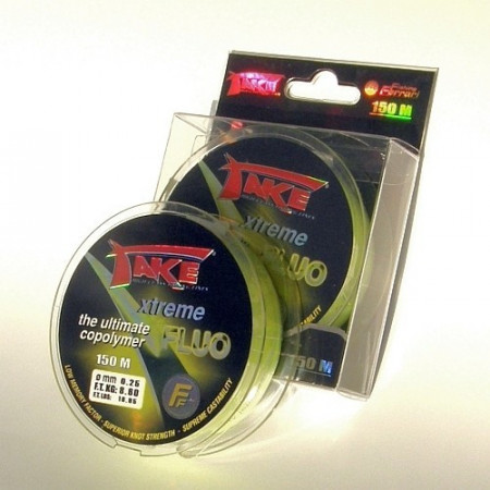 Poze Fir Lineaeffe Take Extreme Fluo 150m