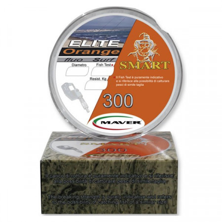 Poze Fir monofilament Elite Surf Orange 300m Maver