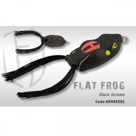 Poze Flat Frog Black Scream Herakles
