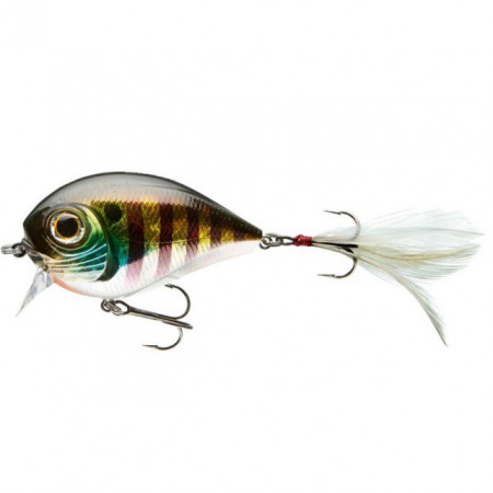 Poze Vobler Belly Dog N Chrome Perch Cormoran 6,8cm/ 24gr