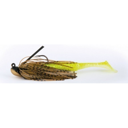 Poze Shad Power Shad Dual Neon Yellow 11.5cm, 6buc/plic Rapture
