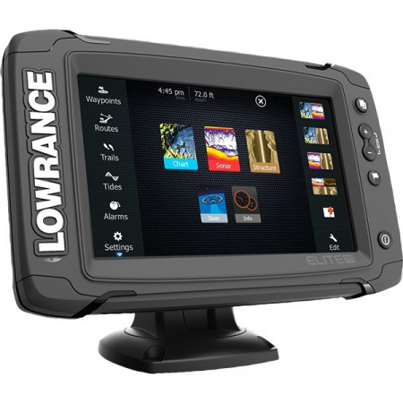 Sonar Lowrance Elite-7 Total Scan Ti Chirp + Structure Scan + Chartplotter