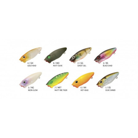 Poze Vobler Chibi Pop Floating Ghost Gill 3.7cm, 2.5g Rapture