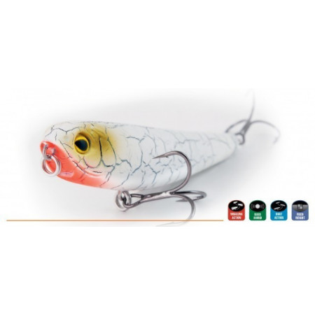 Poze Vobler Prey Glider Floating SKW 8cm, 8.5g Rapture