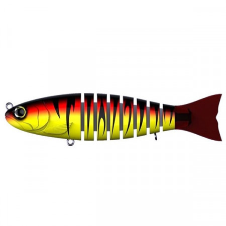 Poze Vobler Swimbait Seven Section Strout Red Tiger 14cm 29g Biwaa
