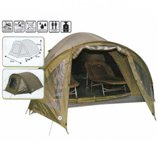 Cort camping Traper 2 persoane Baracuda