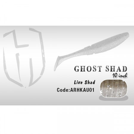 Poze Shad Ghost 10cm Live Shad Herakles