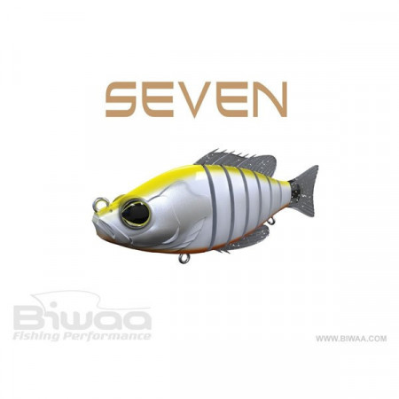 Poze Vobler Swimbait Seven Section Hi-Viz 10cm / 17g Biwaa