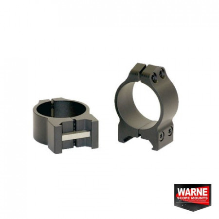 Poze Set inele prindere luneta 30mm obiectiv 30-36mm Warne