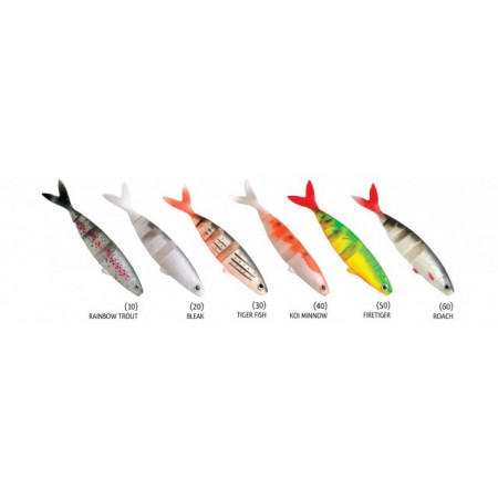 Poze Shad Swimmy Bleak 12cm 3buc/plic Rapture