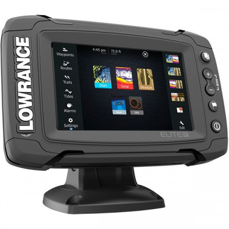 Sonar Lowrance Elite-5 Ti Total Scan Chirp + Structure Scan + Chartplotter