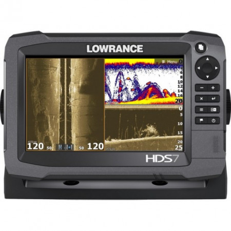 Sonar Lowrance HDS-7 Carbon Structure Scan 3D Chartplotter