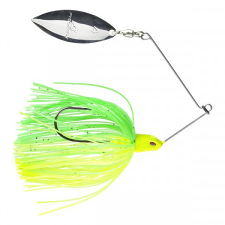 Poze Spinnerbait Prorex Willow Spinner Green Chartreuse 7gr Daiwa