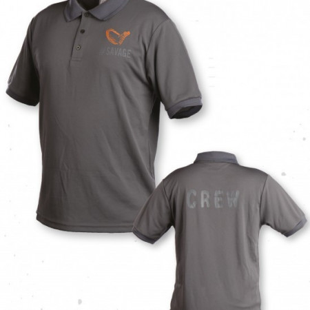 Poze Tricou polo gri Savage Gear