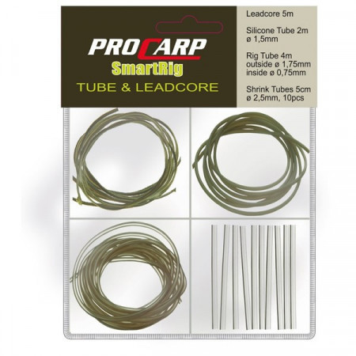 Kit ProCarp tube and leadcore mud Cormoran
