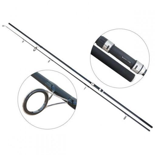 Lanseta fibra de carbon Carp Hunter 12' (3,6m) 3,5 lbs, 2 tronsoane Baracuda