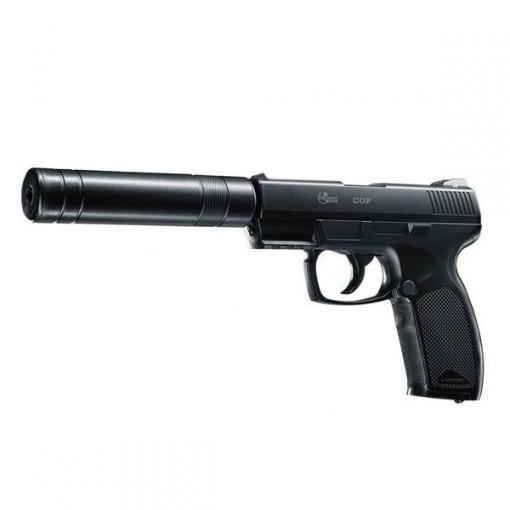 Pistol airsoft CO2 COP SK cu amortizor / 15 bb / 2J Umarex