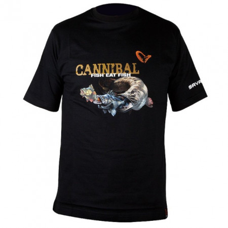 Poze Tricou bumbac Cannibal Savage Gear